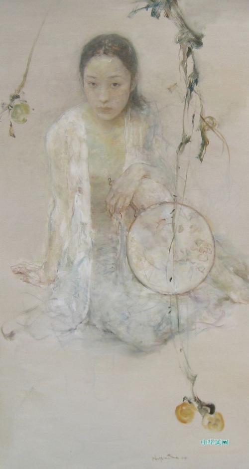 《青果》(油画); 至美--香狐 - 极品女红 - 极品女红; 胡峻涤_图片图片