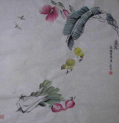 杭州千岛湖画院画师.自幼酷爱美术,有深厚的素描功底.