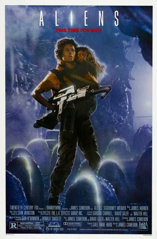 异形2电影海报