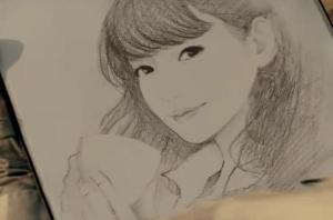 2010精灵素描像图片