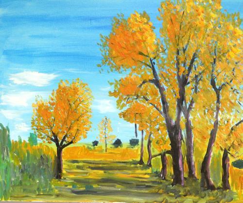 当他一幅幅油画,水彩画,水粉画作品出现在报端和网络,受到人们赞誉的