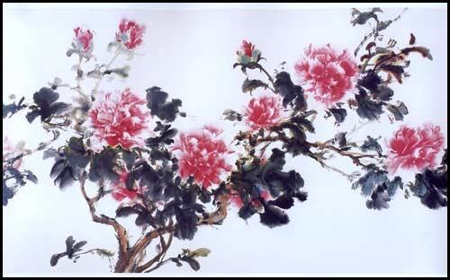 董良达写意牡丹作品精选 当代中国画名家精品丛书 当代中国画名家精品丛书