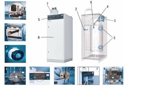 家用电采暖炉原理