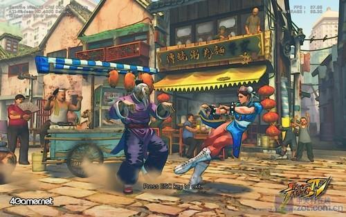 《街头霸王4》