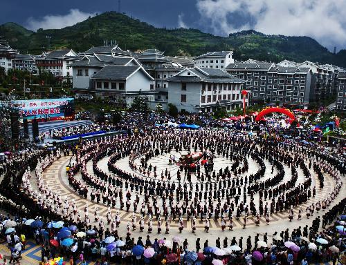 黔东南苗族侗族自治州位于贵州省东南部