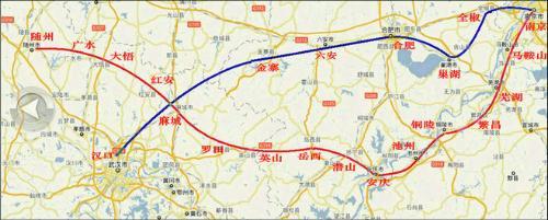 上海到湖北英山地图