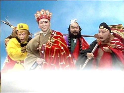 是央视1986年版《西游记》第二十五集《波生极乐天》唐僧四众取经归