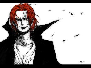 在海贼王罗杰被处死后自己成立了红发海贼团