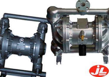 上海江莱泵业不锈钢气动隔膜泵图片