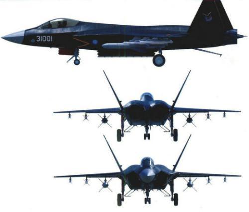 """歼-31是沈阳飞机工业集团研制的第四代双发中型隐形战斗机,代号""""鹘鹰"""""""