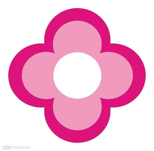 中间的圆圈象征医院卓越的权威医疗体系,全面保障女性健康.