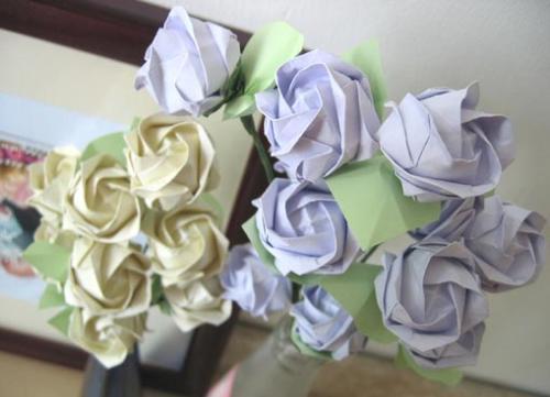 玫瑰怎么叠步骤图