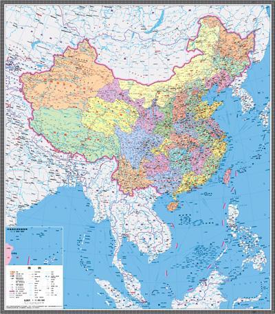 新版中国地图