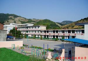 桃舟中心学校位于安溪县西北边陲