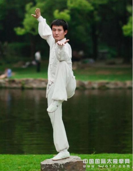 2001年于陈家沟太极拳学校拜陈氏太极拳第二十世传人陈自强为师系统图片