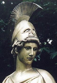 古希腊神话人物油画欣赏--雅典娜(图)-雅典娜,女神; 雅典娜,智慧女神