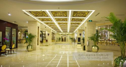酒店大堂装修效果图图片