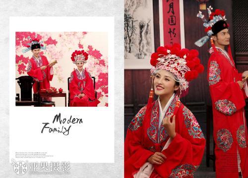 全部版本 历史版本  [1]古装结婚照在以往的婚纱照拍摄里占的比重