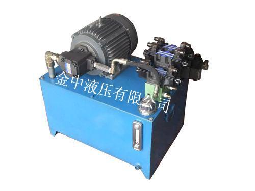 (即各种液压阀)在液压系统中控制和调节液体的压力图片