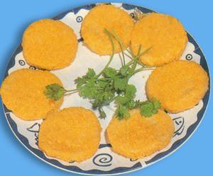 红薯糯米黑芝麻饼 - xiaocaiyidie090111 - 小菜一碟