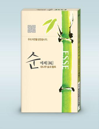esse香烟_爱喜香烟; 爱喜esse 竹子醇; 韩国免税店系列esse香烟爱喜