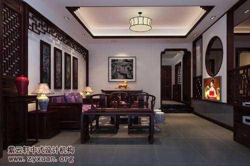 新中式风格别墅装修