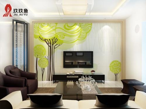 电视背景墙作为客厅装修的亮点