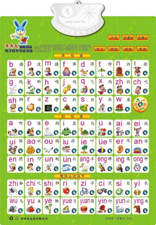 整体认读音节和拼音字母表图片