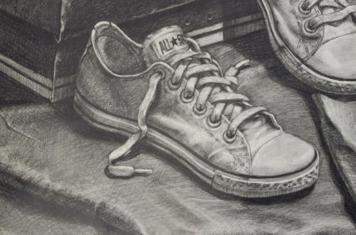 匡威鞋手绘画稿