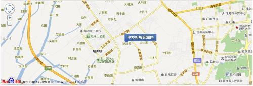 温州市新城地图