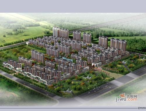 塞尚青年城鸟瞰图