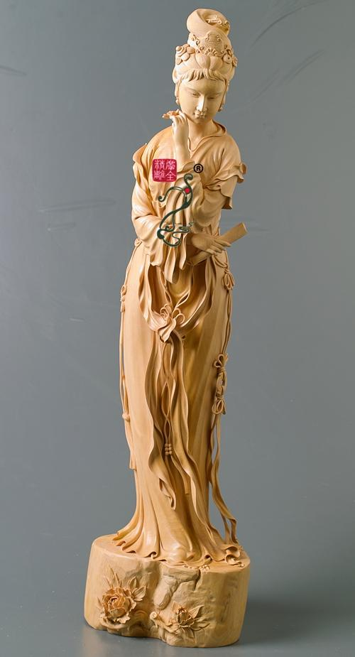 木雕四大美女图片展示下载;
