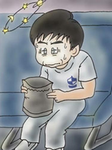 不高兴的卡通图片分享_琪琪卡通