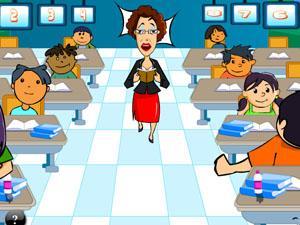 游戏名称:恶搞美女老师