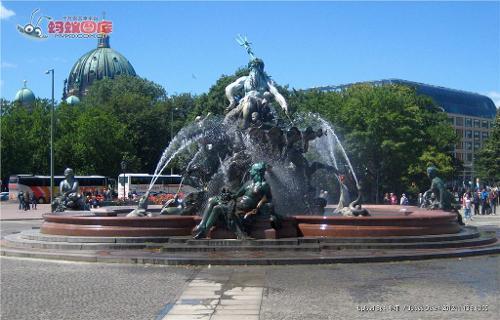 欧式喷泉雕塑模型下载