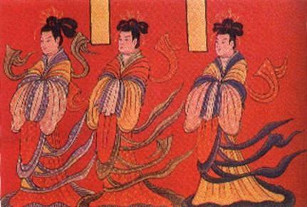 古代丑女手绘图