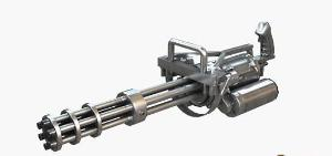 4000 rpm 武器特点:1,射速快;2,载弹量大; 3,经典枪型武器点评:加特林图片