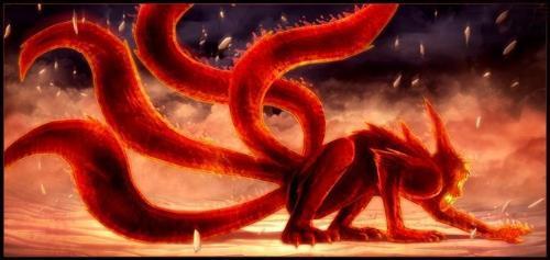 九尾妖狐 火影忍者 中的尾兽 搜狗百科图片