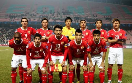 广州恒大足球俱乐部球员