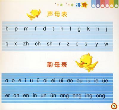 幼儿26个拼音字母表