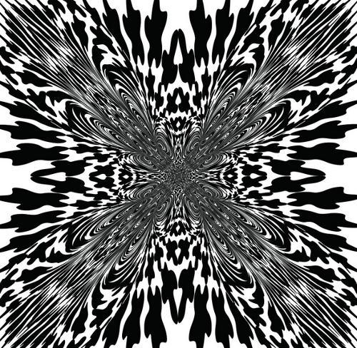 花带平面矢量图