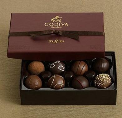 歌帝梵巧克力;