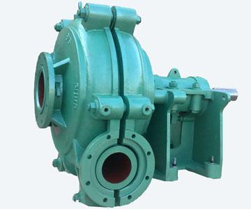 该系列泵为卧式,垂直中形式,双泵壳结构渣浆泵该系列泵为卧式,垂直中