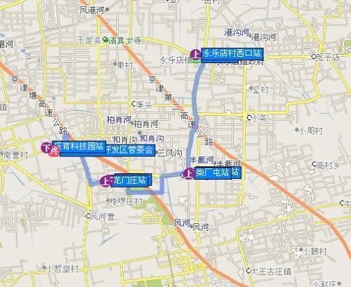 通州区永乐店镇规划_