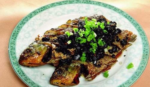 豆豉烹饪的菜肴