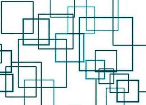 简单的几何纹样手绘图