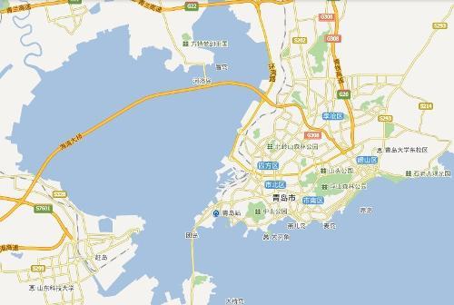 青岛地图全图高清版