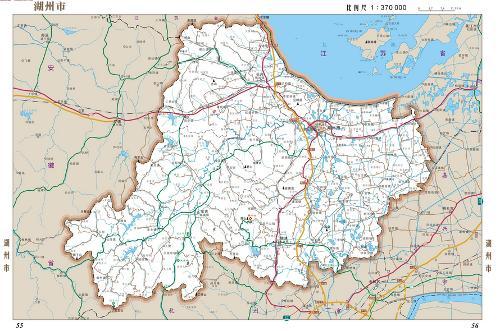 湖州到 蚌埠地图
