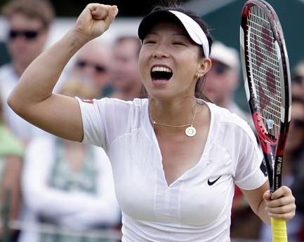 优秀女网球运动员