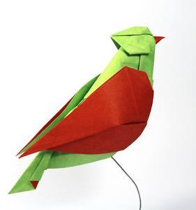 共同部分动物折纸